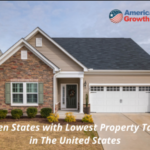 Lowest Property Tax