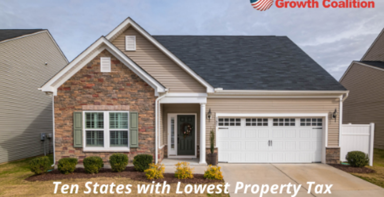 Ten States with Lowest Property Tax in the United States